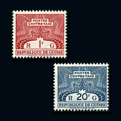Postage-Due-Stamps-of-Guinea