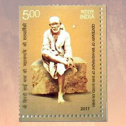 Postage-stamp-issued-to-commemorate-centenary-of-Mahasamadhi-of-Shri-Shirdi-Sai-Baba