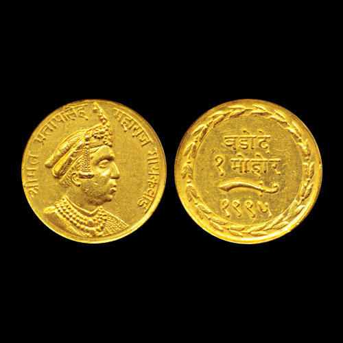 Pratap-Singh---Baroda-State-Gold-Mohur-Listed-For-INR-3,00,000