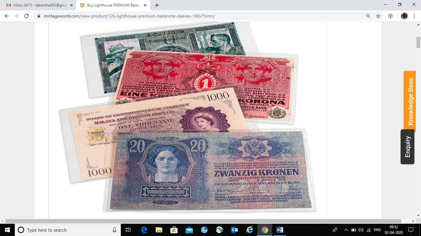 Preserve-your-rare-currency-notes-in-Lighthouse-PREMIUM-Banknote-Sleeves