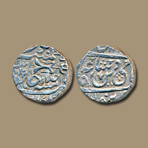 Princely-State-Gwalior-Silver-Rupee