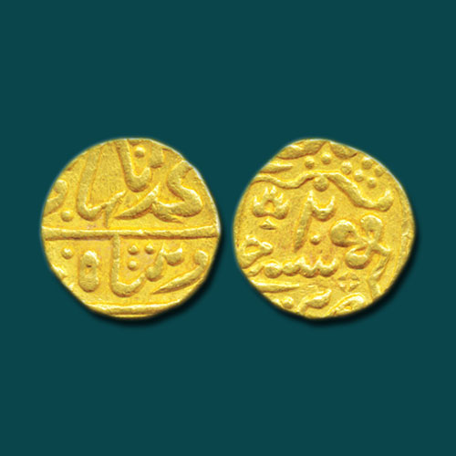 Princely-State-Kotah-Gold-Mohur-Listed-For-INR-3,50,000
