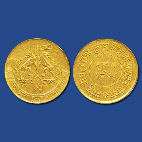 Princely-State-Rewa-Gold-Mohur-Listed-For-INR-1,80,000