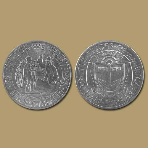 Providence,-Rhode-Island-Tercentenary-Half-Dollar