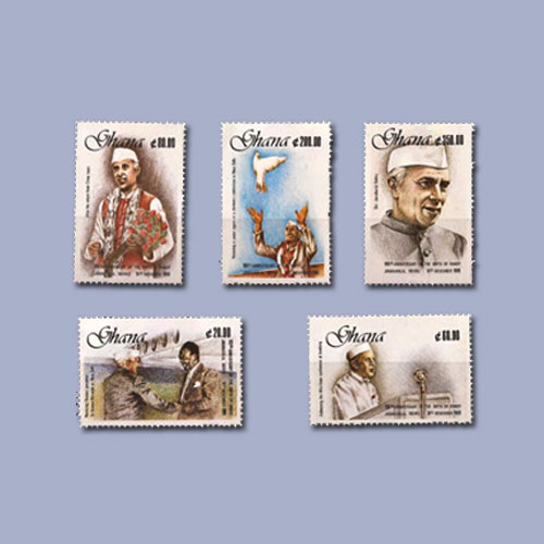 Pt.-Nehru-on-the-Stamps-of-Ghana