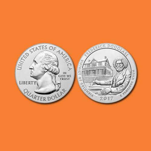 Quarter-Dollar-of-Frederick-Douglass-National-Historic-Site