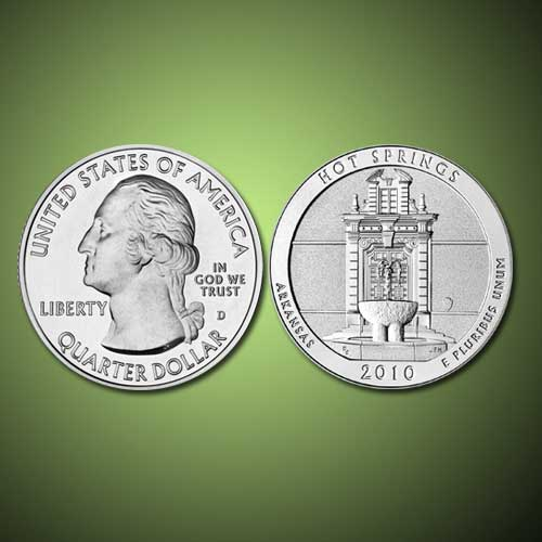 Quarter-Dollar-of-Hot-Spring-National-Park-