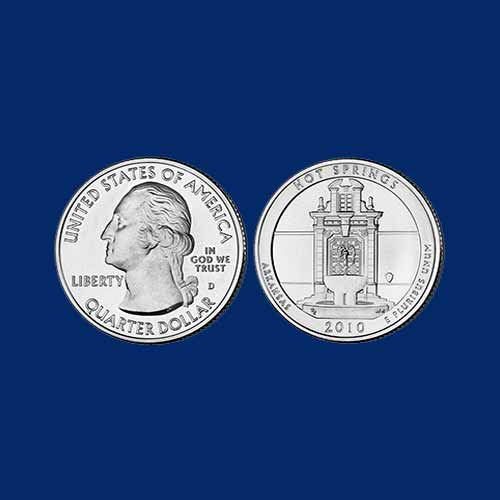 Quarter-Dollar-of-United-States-on-National-Park