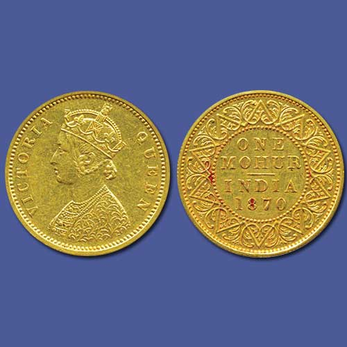 Queen-Victoria-Gold-Mohur-Listed-For-5,00,000