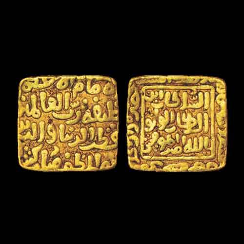 Qutb-Al-Din-Mubarak-Shah-Gold-Tanka