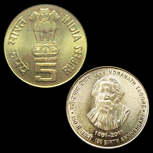 Rabindranath-Tagore-on-Coin