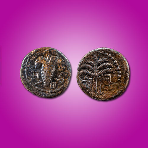 Rare-Bar-Kokhba-Coin-Discovered-by-Archaeologists-in-Jerusalem