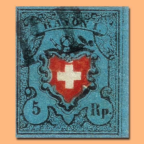 Rayon-I-stamp-of-Switzerland