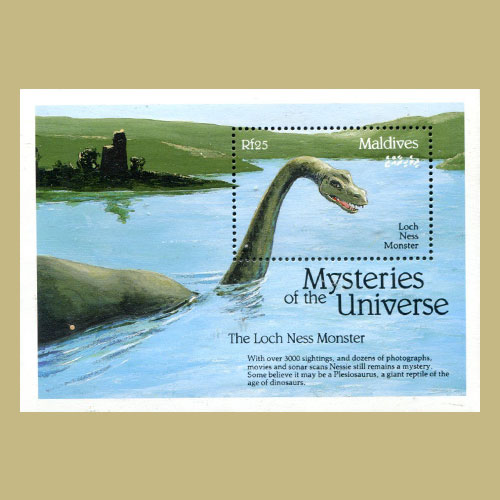 Resident-monster-of-Loch-Ness-on-stamps