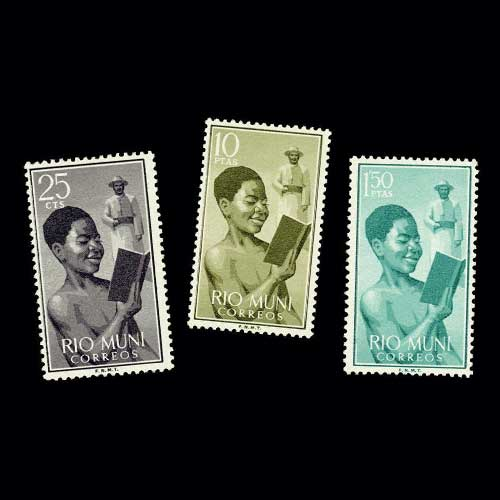 Rio-Muni-and-the-First-Stamp-Issue