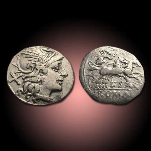 Roma-on-silver-coin