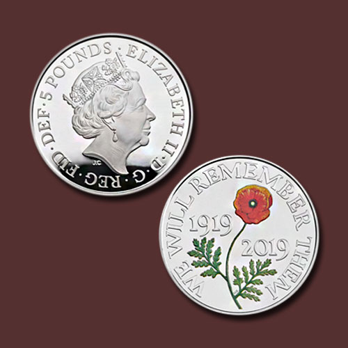 Royal-Mint-Commemorates-the-Centenary-of-the-Remembrance-Day