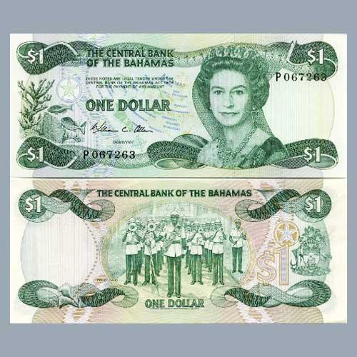 Royal-Police-Force-Band-on-Bahaman's-banknotes