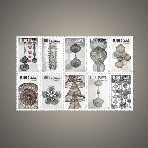 Ruth-Asawa's-Legacy-Comes-Alive-through-Postage-Stamps