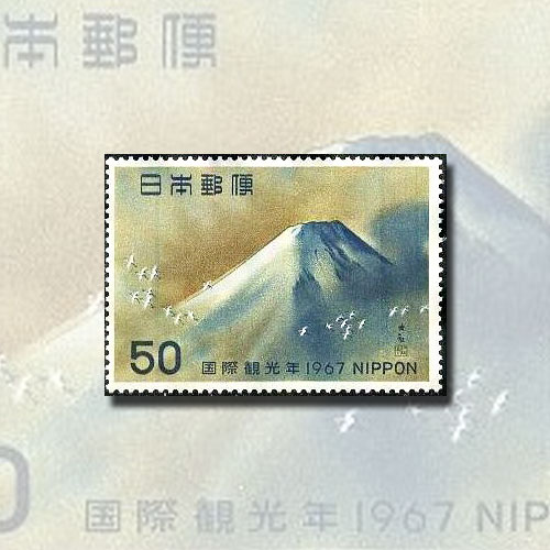 Sacred-Mount-Fuji-Featured-by-Nippon-Post