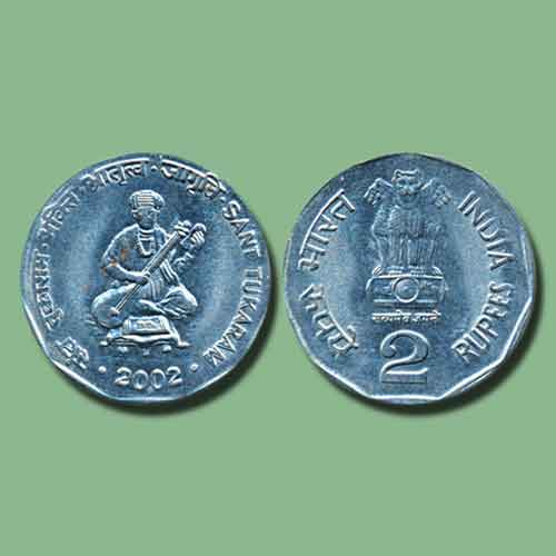 Saint-Tukaram-on-coin