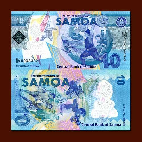 Samoa's-Pacific-Games-commemorative-Banknote