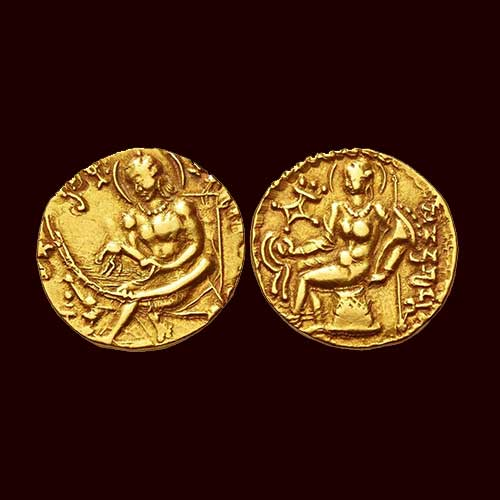 Samudragupta-Gold-Dinar-Listed-For-INR-5,50,000