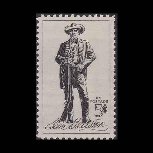 Samuel-Houston-Commemorative-Stamp