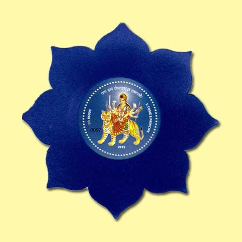 Sao-Tome-and-Principe's-Indian-Goddess-Durga-Stamp