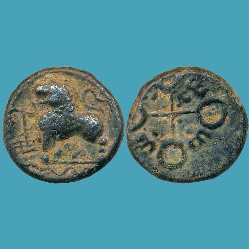 Satavahana-Copper-Coin