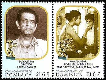 Satyajit-Ray-on-the-Stamps-of-Dominica