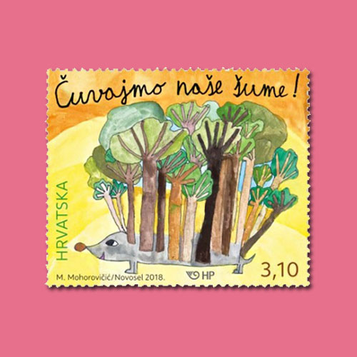 'Save-Forest-Stamp'-of-Croatia