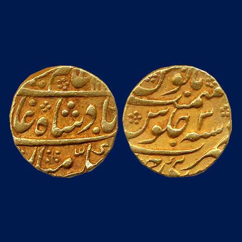 Sawai-Jaipur-Gold-Mohur-Listed-For-INR-60,000