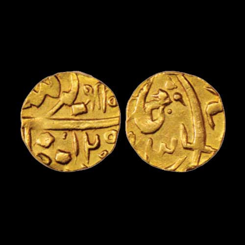 Sayaji-Rao-II-One-Third-Mohur
