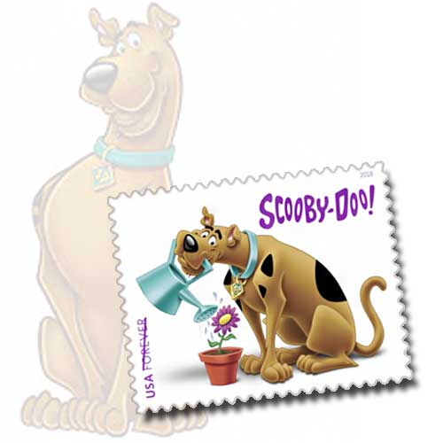 Scooby-on-stamps!