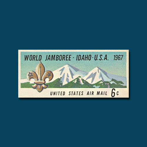 Scout-Emblem-Airmail-Postal-Card-of-the-US