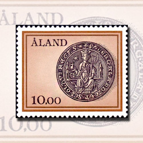 Seal-of-the-Aland-Islands-Featured-on-Stamp