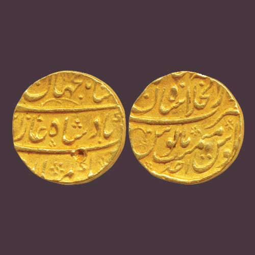 Shah-Jahan's-II-Gold-Mohur