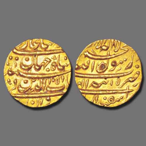 Shah-Jahan's-gold-mohur-Listed-for-Estimated-Price-of-INR-2,00,000-2,20,000