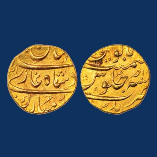 Shah-Jahan-II-Gold-Mohur