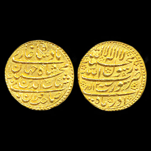 Shah-Jahan-Gold-Mohur-Listed-For-INr-1,30,000