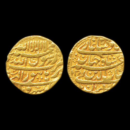 Shah-Jahan's-Gold-Mohur-Listed-For-INR-75000