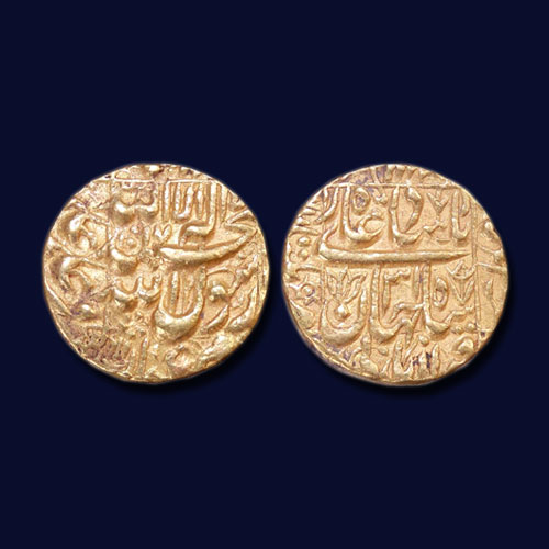 Shah-Jahan's-Gold-Mohur-Listed-for-INR-46,000