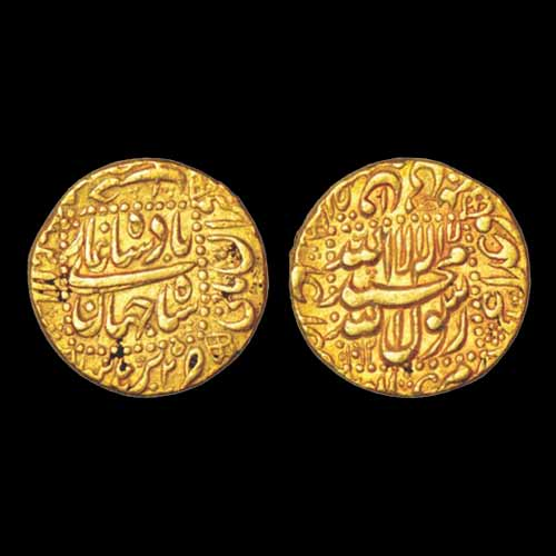 Shah-Jahan's-Gold-Mohur-Sold-For-INR-60,000
