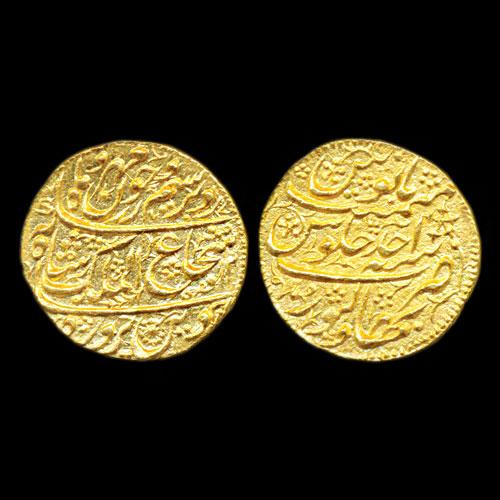 Shah-Shuja-ul-Mulk's-Gold-Mohur-listed-For-INR-65,000