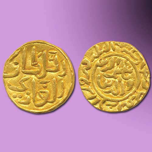 Shams-Al-Din-Ilyas-Shah-Gold-Half-Tanka-Sold-For-INR-5,00,000