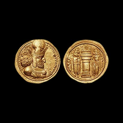 Shapur-I-becomes-co-emperor-of-the-Sasanian-Empire