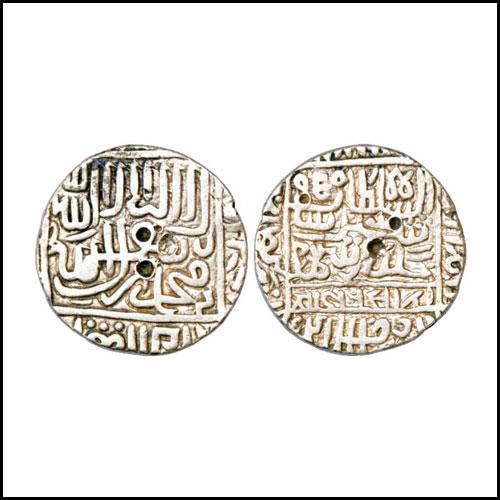 Sher-Shah-Suri's-Silver-Rupee