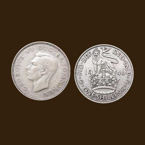 Shilling-of-King-George-VI