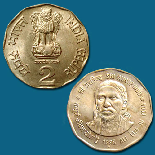 Shri-Aurobindo-Ghose-on-coin